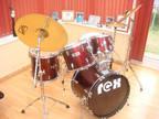 REX Drum Kit Plus Extras - Adult Size