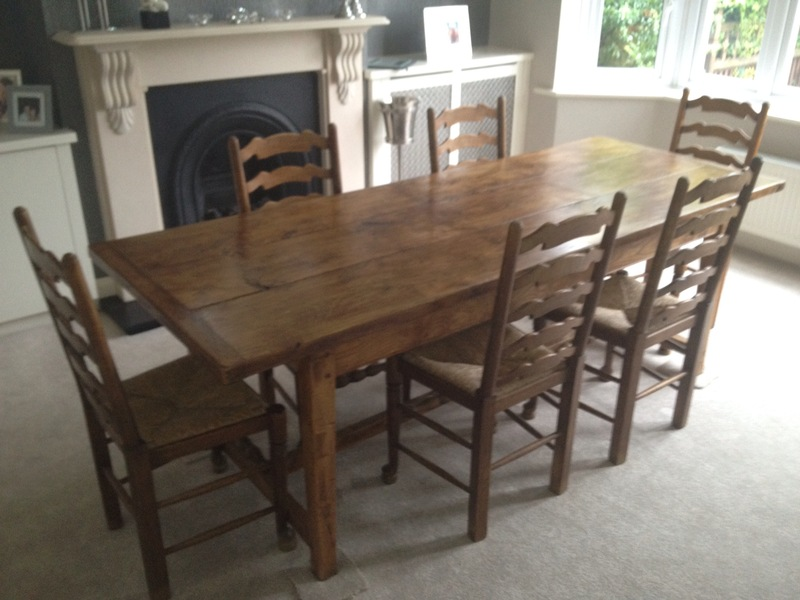 dining table and 6 chairs for sale in northampton dining table and 6