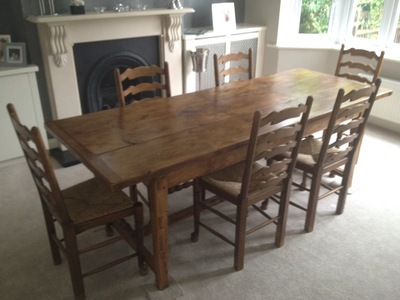 Dining table and 6 chairs for sale in northampton dining for Furniture northampton