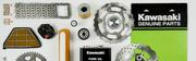 Kawasaki motorcycle parts and Accessories.